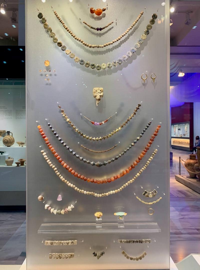 museo archeologico Heraklion, arte minoica, gioielli minoici