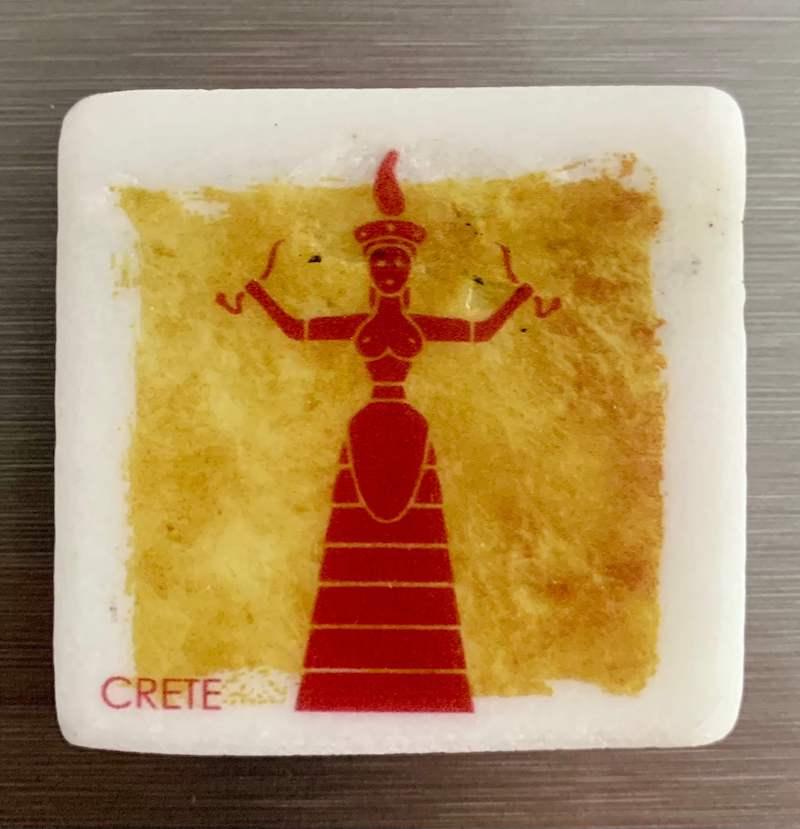 souvenir Creta, arte minoica, souvenir Heraklion