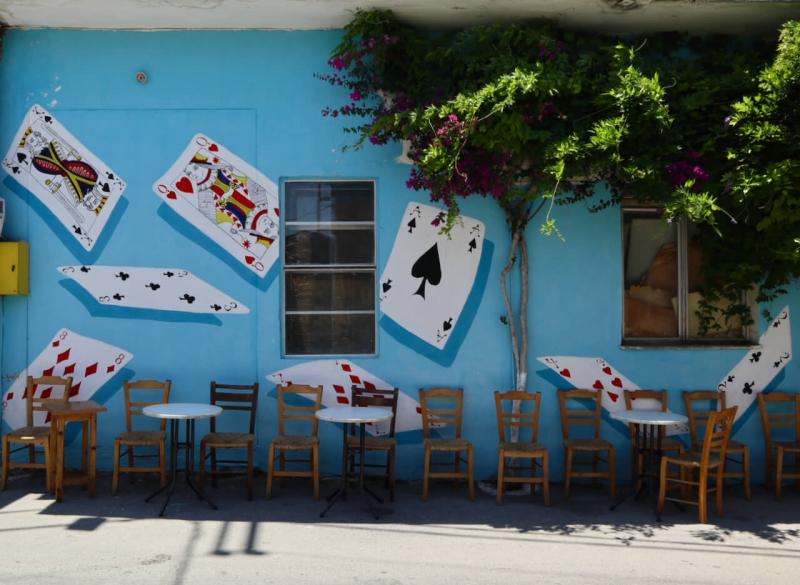 murales del kafeneio di Ano Asites, lakkos project, lakkos residency